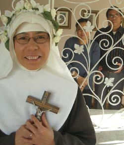 Click to read Sister Marie Elise's story on the Poor Clare's blog.